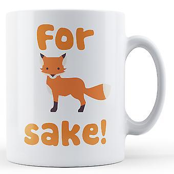 För Fox Sake - tryckt mugg