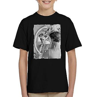 T-shirt di TV volte Julie Andrews floreale cappello bambino