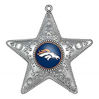 デンバー ・ ブロンコス NFL スポーツのコレクター シリーズ銀星飾り