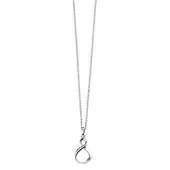 Elements Silver Infinity Loop Pendant - Silver