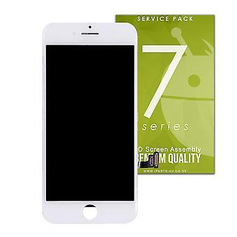 Prémio qualidade branco LCD Assembly para iPhone 7 Plus