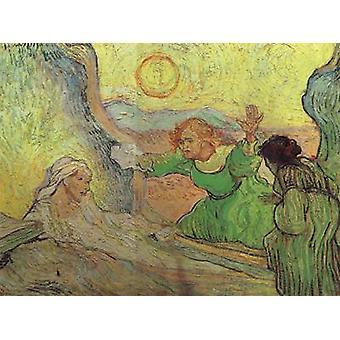 The Raising of Lazarus,Vincent Van Gogh,50x65cm
