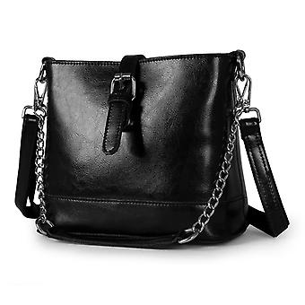 Shoulder handbag in genuine cow leather K1382S