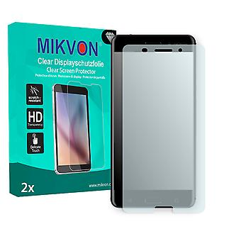 Nokia 6 Screen Protector - Mikvon Clear (Retail Package with accessories) (reduced foil)
