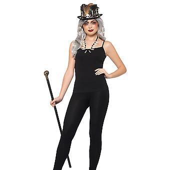 Voodoo Kit set adult Halloween costume Wizard shaman