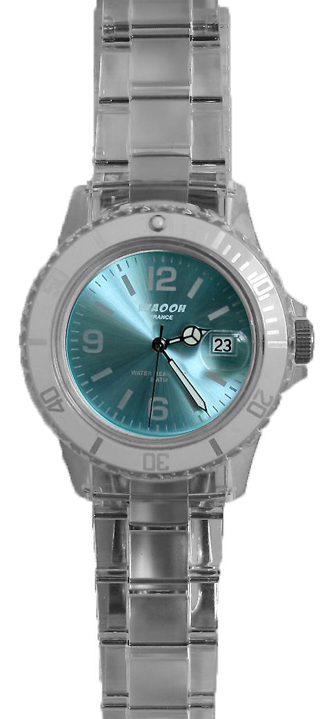 Waooh - Watch VENICE 38 White Dial Color