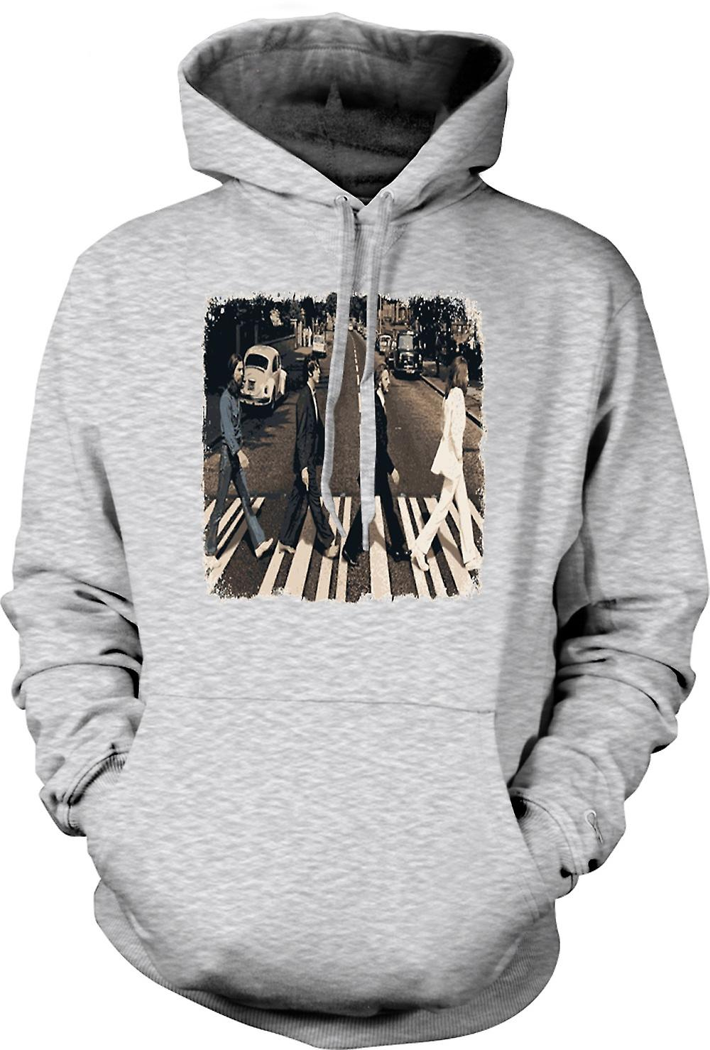Mens Hoodie - Beatles - Abbey Road - Album Art