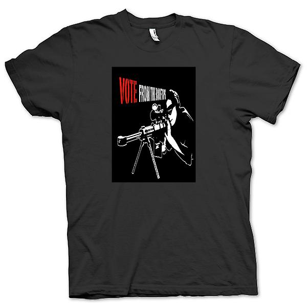 Womens T-shirt - Sniper - Vote From The Rooftop