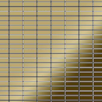 Mosaico de metal sólido Titanio ALLOY Cabin-Ti-GM