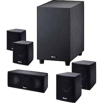MAGNAT Cinemotion 510 home theater system with active subwoofer, black B-stock