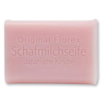 Florex sheep milk SOAP - Japanese cherry - Oriental delicate blooms with a sweet fragrance to the spring 100 g