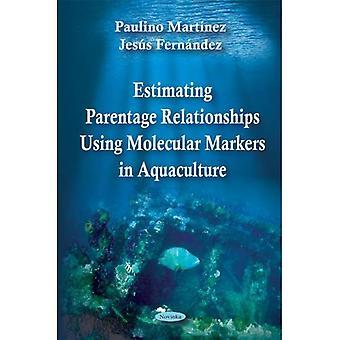 Schätzung der Abstammung Beziehungen mithilfe von molekularen Markern in der Aquakultur