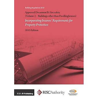 Approved Document B: Fire Safety : Incorporating Insurers' Requirements for Property Protection: Buildings Other...