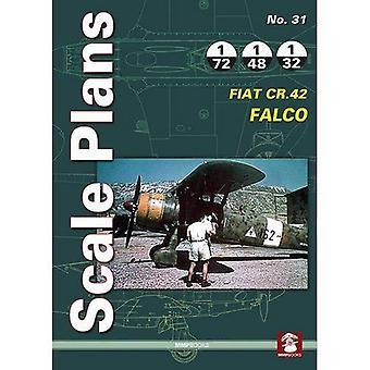 Scale Plans No. 31: Fiat CR.42 Falco