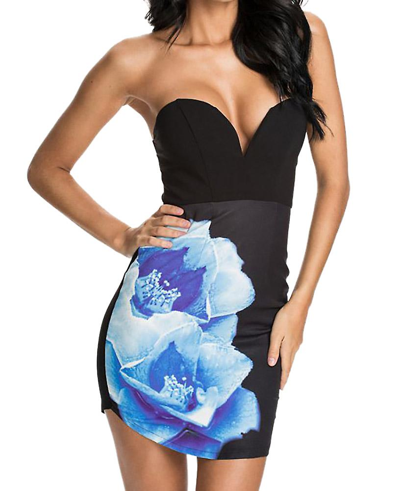 Waooh - Short dress flower printed Gerd