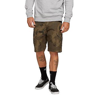 Volcom Men's Cargo Shorts ~ Miter II Cargo camo