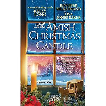 Amish jouluna kynttilä