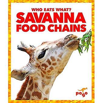 Savanna Food Chains (Who Eats What?)