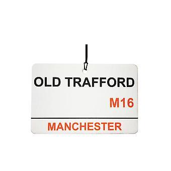 Manchester Utd / Old Trafford Street Sign Car Air Freshener