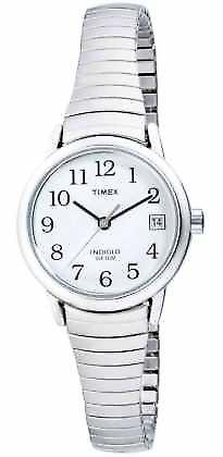 Timex Womens Stainless Steel uitbreidbare T2H371 Watch