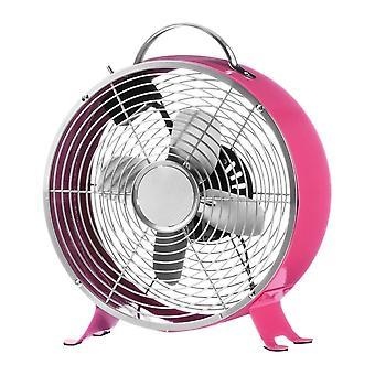 Fusion Living Hot Pink Funky Retro Schreibtisch Fan
