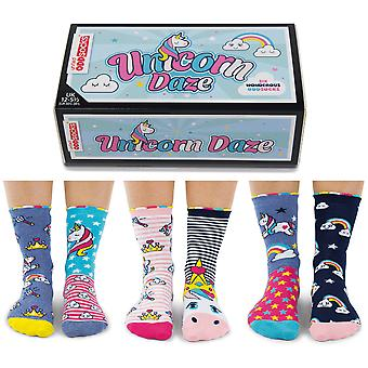 United Oddsocks Unicorn Daze calzino Set regalo per ragazza