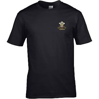 10. Royal Hussars veteran-licenseret British Army broderet Premium T-shirt