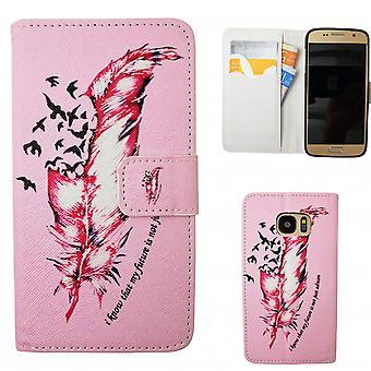 Samsung Galaxy S7-cas/pochette en cuir-printemps