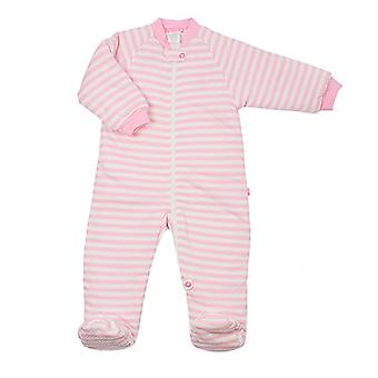 uh-oh! Baby Sleeping Bag with Legs 3.0 tog Warmth Rating Pink Stripe