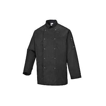 Portwest suffolk chefs jacket c833