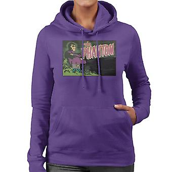 The Phantom Comic Title Women's Hooded Sweatshirt