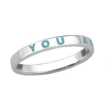 You And Me - 925 Sterling Silver Plain Rings - W29263X