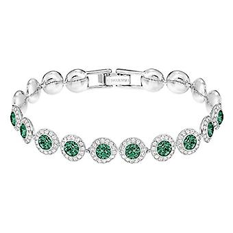 Swarovski Angelic bracelet - Green - rhodio plating