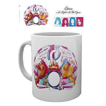 Queen A Night at the Opera Ceramic Coffee Mug (ge)