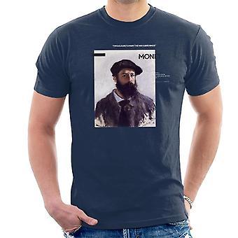 A.P.O.H Monet Paint The Way Birds Sing Quote Men's T-Shirt