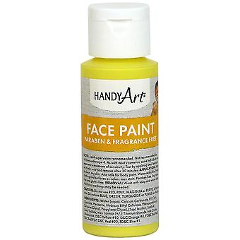 Handy Art Face Paint 2oz-Yellow 558-10