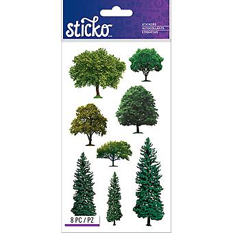 Sticko Stickers-Trees E5201358