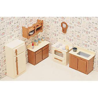 Dollhouse Furniture Kit Kitchen 72G 05