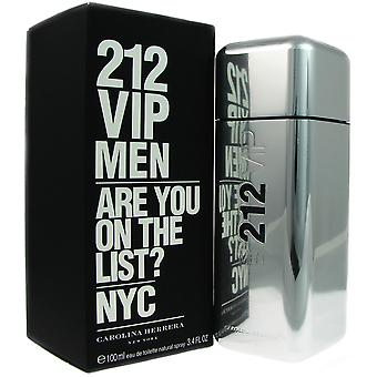 212 VIP Men von Carolina Herrera 3.4 oz EDT Spray
