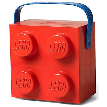Lunchkoffer Lego: rood