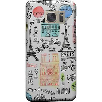 Cover paris monuments for Galaxy S7