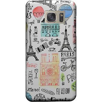 Monumenten van Parijs cover voor Galaxy S7