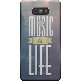 Music is life cover for LG G5