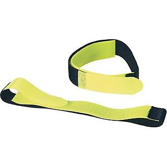 Hook-and-loop tape with strap Hook and loop pad (L x W) 400 mm x 20 mm
