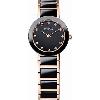 Bering ladies watch wristwatch slim ceramic - 11422-746