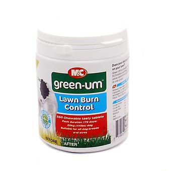M & c hund grøn-um græsplæne brænde kontrol 350 tabletter