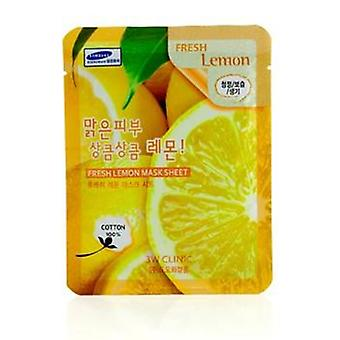 3w Clinic Mask Sheet - Fresh Lemon - 10pcs