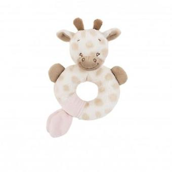 Nattou Charlotte Giraffe Rattle & Rose (Toys , Preschool , Babies , Early Childhood Toys)