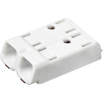Spring-loaded terminal 0.75 mm² Number of pins 2 SMDflat 345/2 Adels-Contact White 1 pc(s)