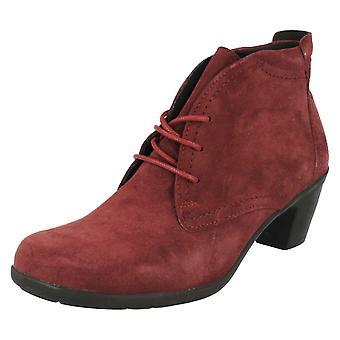 Damer let B bred montering Casual snøre støvlerne Jo